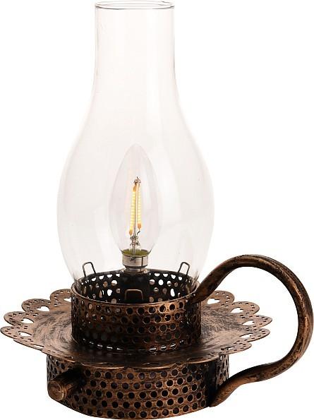 Lucerna s LED žárovkou 24 cm