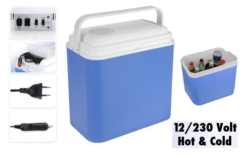Chladicí box elektrický 12 V / 230 V / 24 litrů