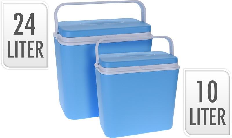 Chladící box sada 2 ks 24 + 10 litrů