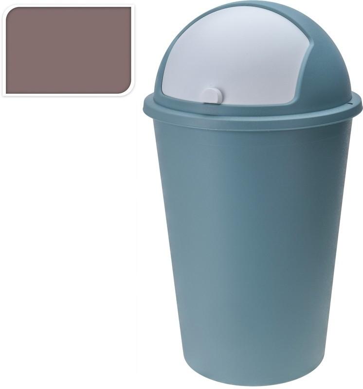 Koš odpadkový plast 50 l hnědý EXCELLENT KO-Y54230250hn