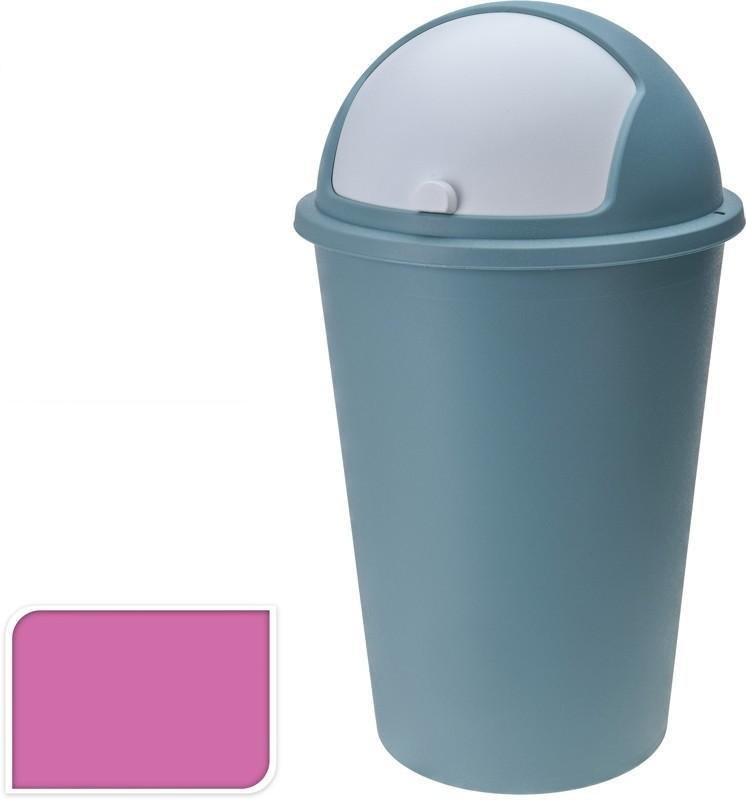 Koš odpadkový plast 50 l růžový EXCELLENT KO-Y54230250ru
