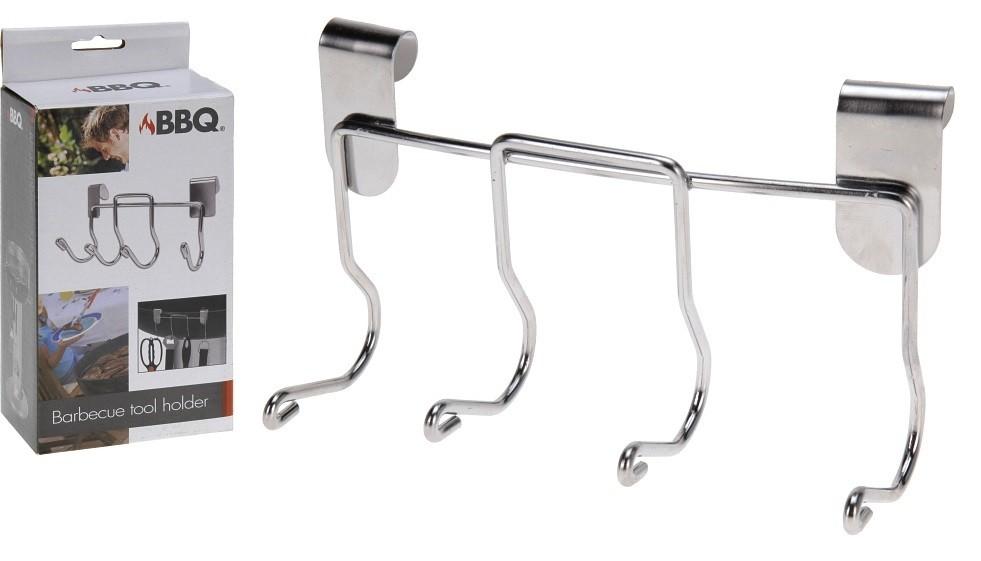 Držák na grilovací nářadí se 4 háky PROGARDEN KO-YL7215020