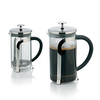 Konvička na čaj a kávu VENECIA nerez French Press 600 ml KELA KL-10851