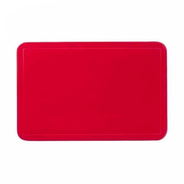 Prostírání UNI červené, PVC 43,5x28,5 cm KELA KL-15001