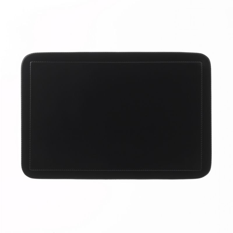 Prostírání UNI černé, PVC 43,5x28,5 cm