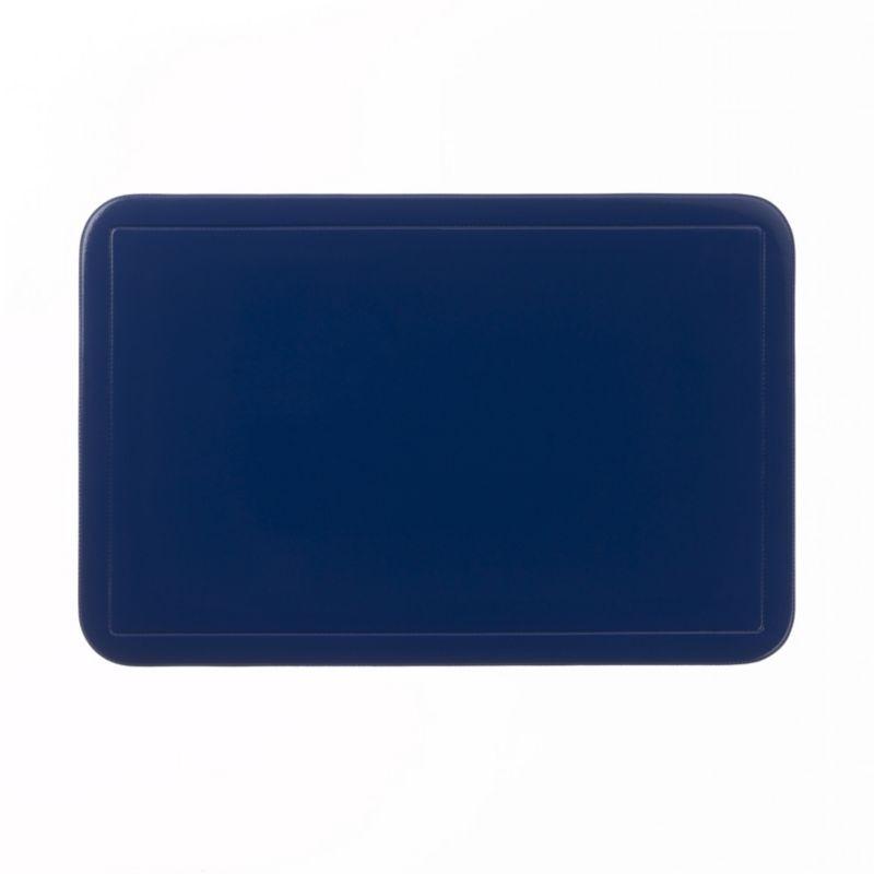 Prostírání UNI tmavěmodré, PVC 43,5x28,5 cm