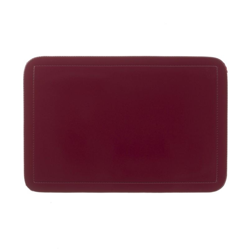 Prostírání UNI tmavě červené, PVC 43,5x28,5 cm KELA KL-15014