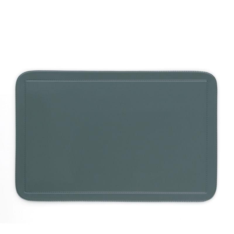 Prostírání UNI šedé, PVC 43,5x28,5 cm, sada 6 ks KELA KL-10315