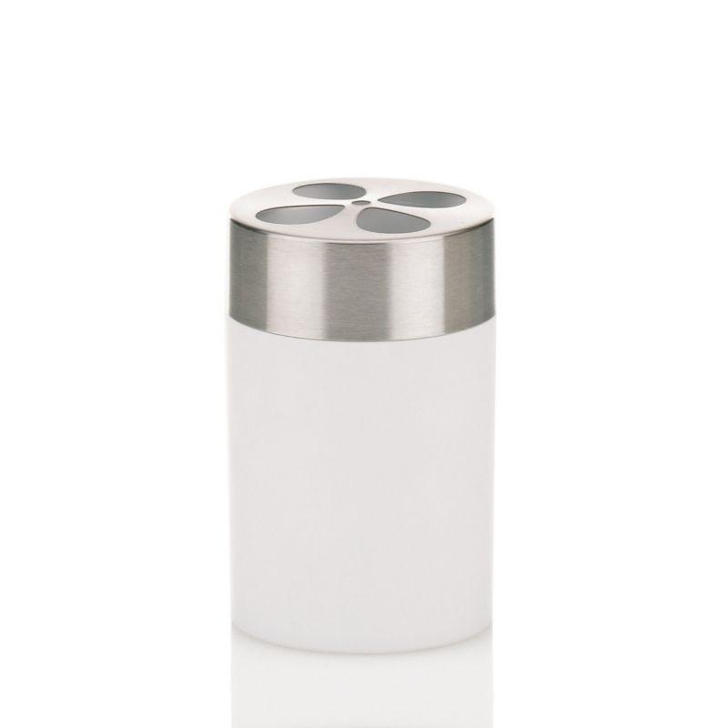Držák na zubní kartáčky LINO ocel / plast