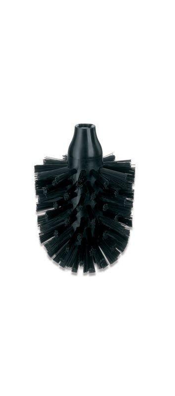 WC náhradní kartáč LA BROSSE 8cm, černý KELA KL-20141