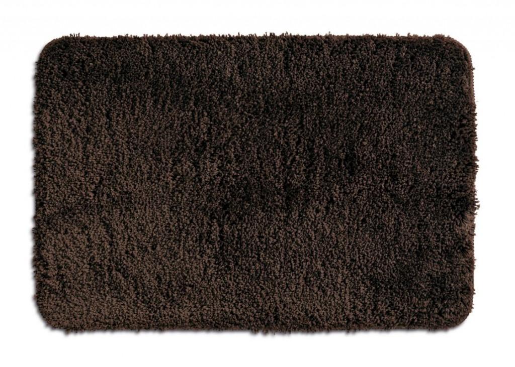 Koupelnová předložka LIVANA 100% polyester 120x70cm hnědá KELA KL-20686