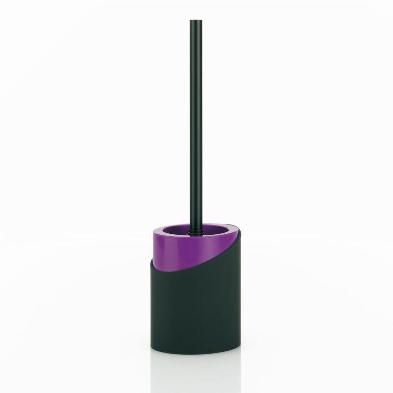 WC sada PIROL černá/fialová, matná KELA KL-21649
