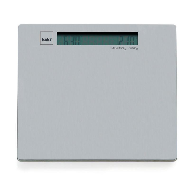 Osobní váha SILVER, nerez stříbrná do 150kg KELA KL-21835