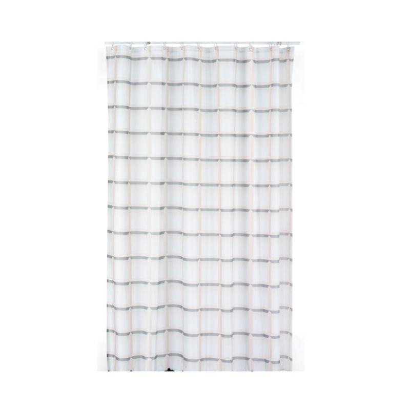 Sprchový závěs LANETA, 100%PES, 180x200cm, béžový KELA KL-22099