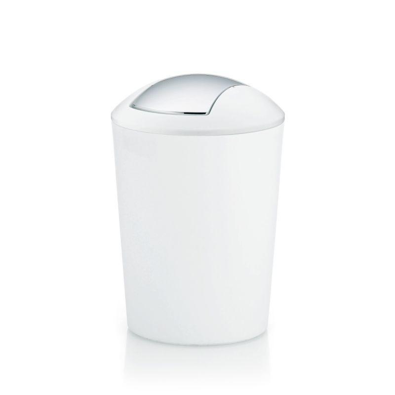 Odpadkový koš MARTA 5L plast, bílý