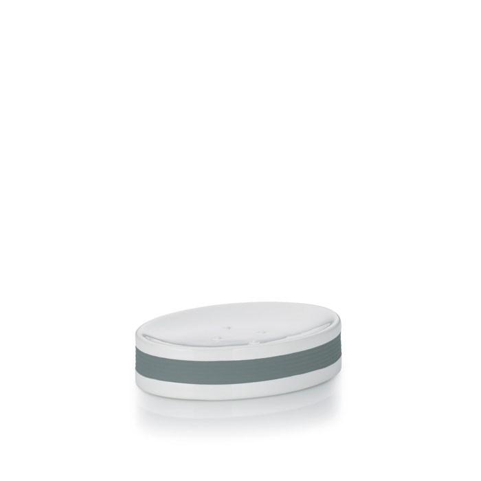 Miska na mýdlo LALETTA keramika šedá KELA KL-22435