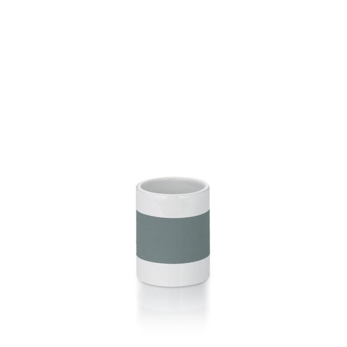 Pohár keramika guma LALETTA šedá KELA KL-22436