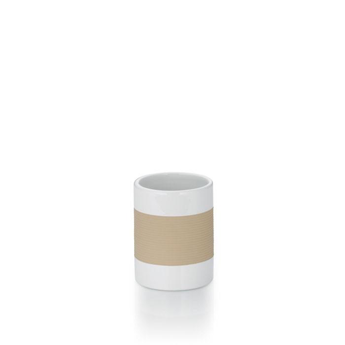 Pohár keramika guma LALETTA béžová KELA KL-22551