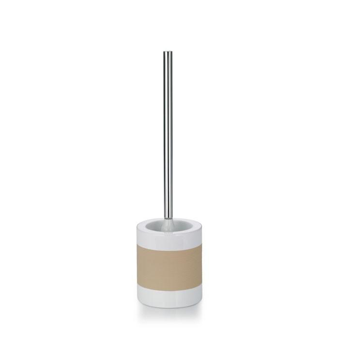 WC sada LALETTA keramika guma nerez 18/10 béžová KELA KL-22553