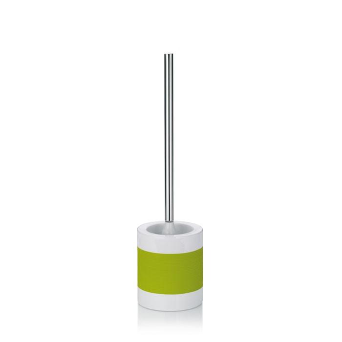 WC sada LALETTA keramika guma nerez 18/10 zelená KELA KL-22563