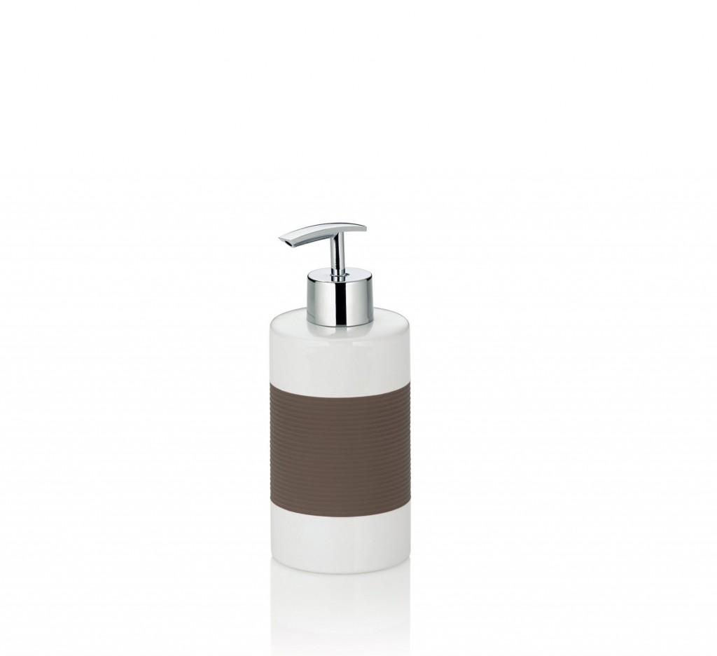 Dávkovač mýdla LALETTA keramika šedohnědý KELA KL-22653