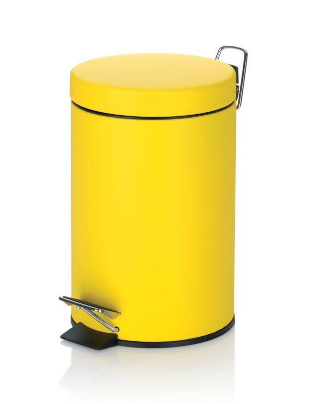 Koš kosmetický SOLE 3 l, žlutý KELA KL-22725