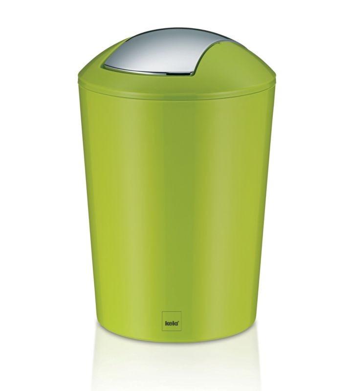 Odpadkový koš MARTA 5L plast, zelený