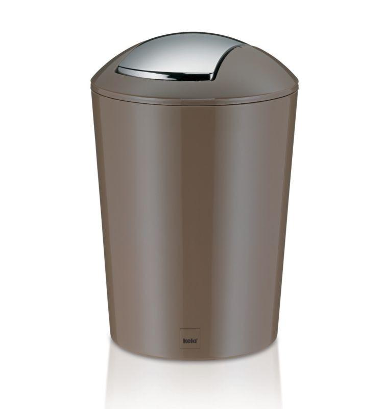 Odpadkový koš MARTA 5L plast, šedohnědá