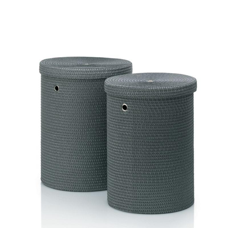 Sada prádelních košů RIMOSSA PP plastic, šedá KELA KL-22982