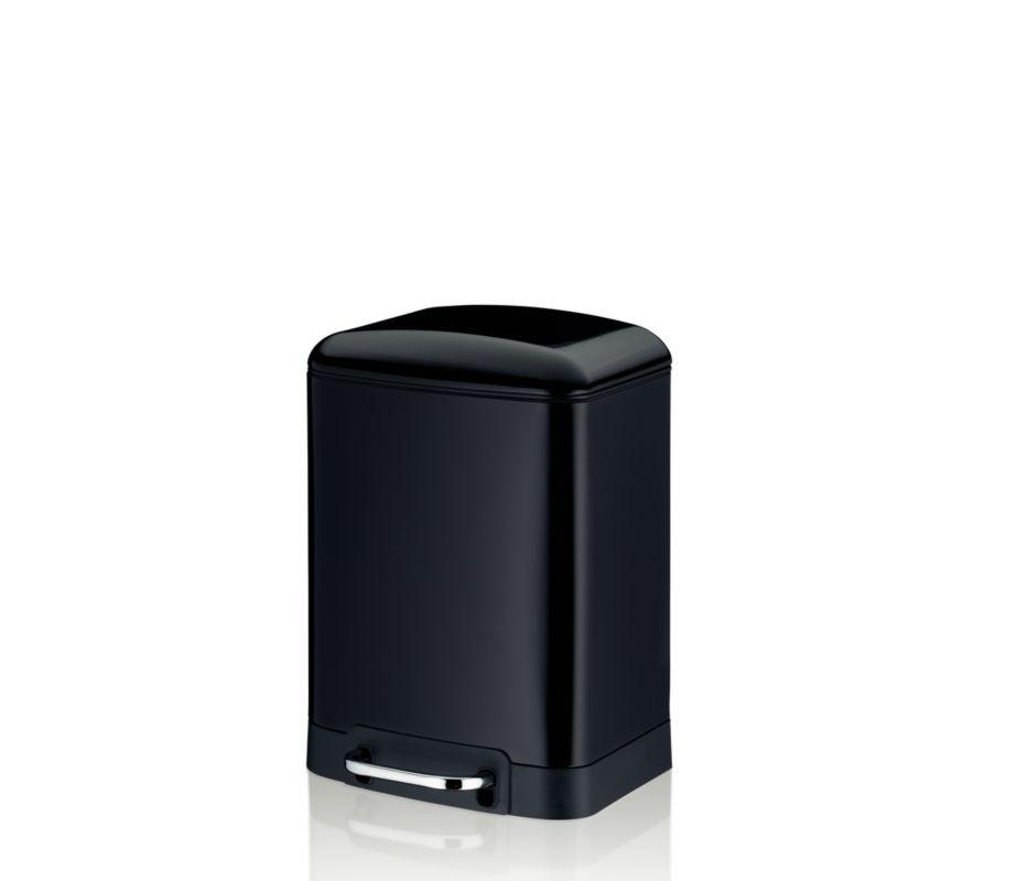 Koš kosmetický DAVINO 6 l černý KELA KL-22995