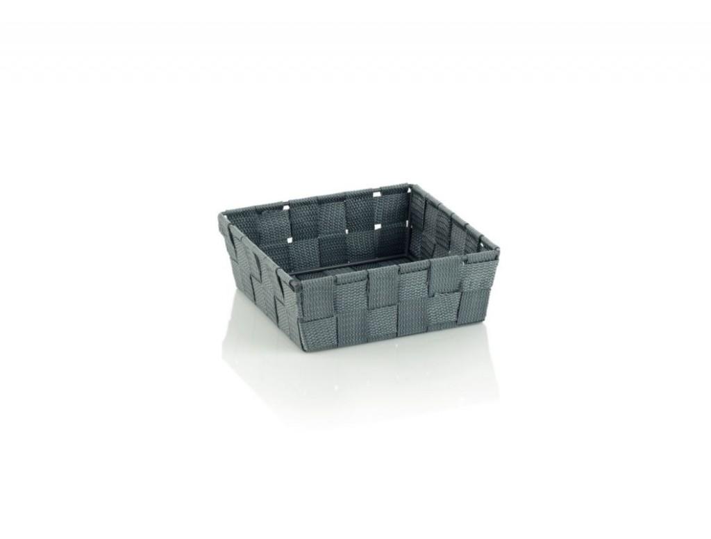 Koš ALVARO PP, šedá 19x19x6cm KELA KL-23032