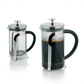 Konvička na čaj a kávu VENECIA nerez French Press 600 ml